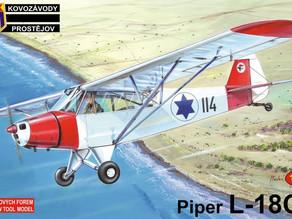 IAF Piper - Cub & Super Cub 1956-2006 - KP 1/72