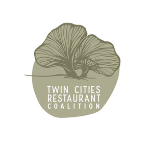 Twin Cities Restaurant Coalition Logo Design