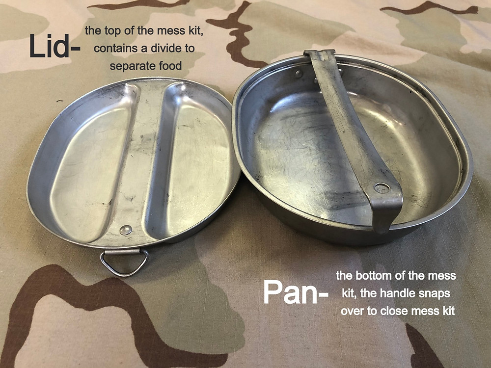 USGI Mess Kit - Lid and Pan