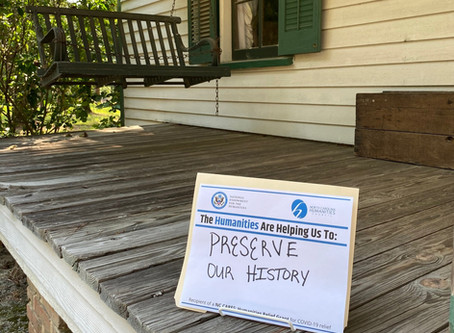 Museum Receives NC CARES: Humanities Relief Grant
