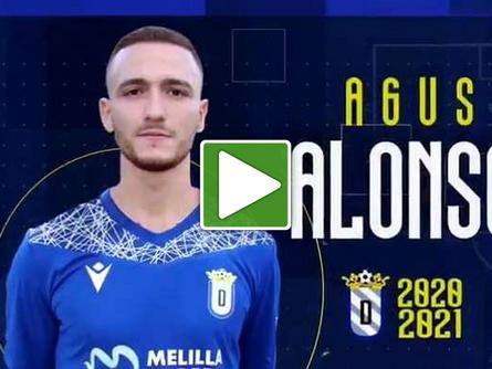 El ex del CP Villarrobledo, Agus Alonso, ficha por el Leganés de 2A y es cedido a la UD Melilla