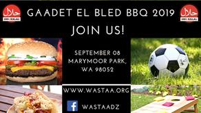"""""""GAADET EL BLED BBQ 2019"""" on September 8th,2019 at Marymoor Park, Redmond,WA."""