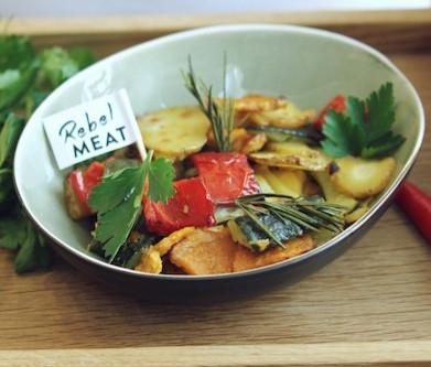 Buntes Ofengemüse vom Blech - schnell und einfach