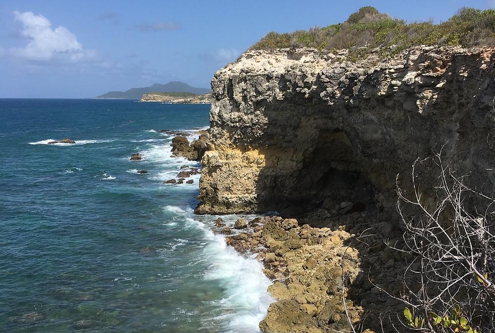Limestone Cliff Sides