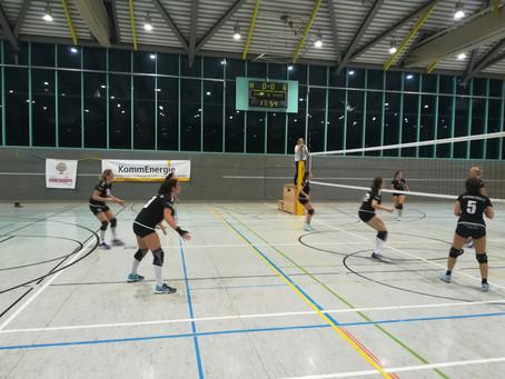 Gutes Spiel gegen Tabellenführer - leider ohne Punkte für Damen 1