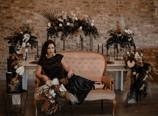 Black | Styled Shoot