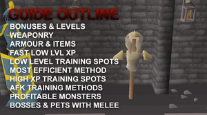 Theoatrix's 1-99 Combat Training Guide (OSRS)
