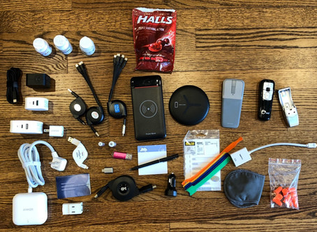 What's In Your Electronics Bag?