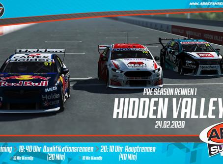 ABGF V8 Supercars Pre-Season 1 - Hidden Valley