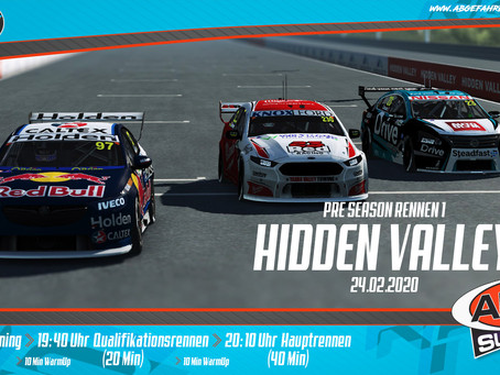 ABGF V8 Supercars Pre-Season 1 - Hidden Valley