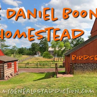 The homestead of Daniel Boone