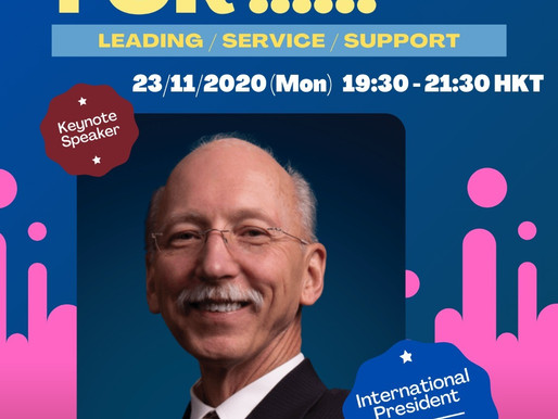 [Oasis TMC] Keynote: Leading through Challenging Time  powered by International President Richard