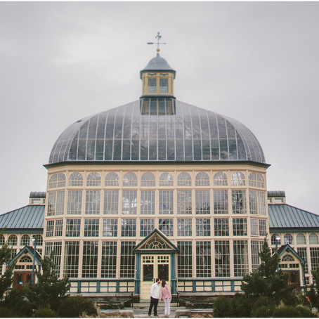 Margaret & Zach || Rawlings Conservatory Engagement