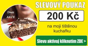 Sleva 200 Kč na fitness kuchařky ZDE >