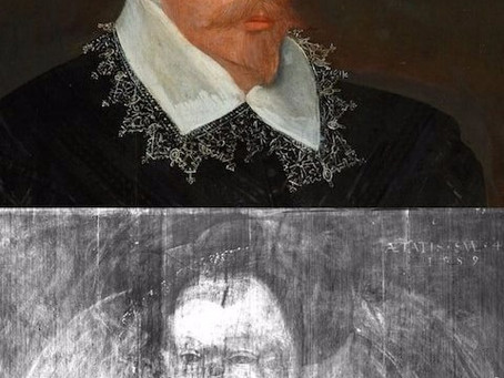 X-Rays Reveal Sketch of Mary Queen of Scots