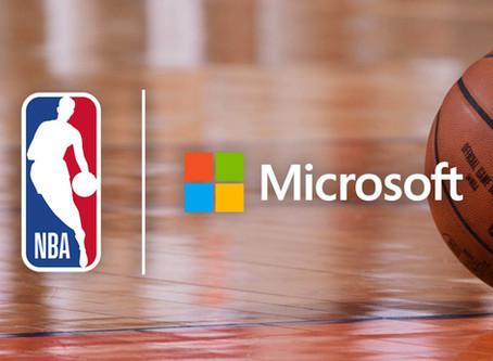 NBA rozpoczyna współpracę z Microsoft