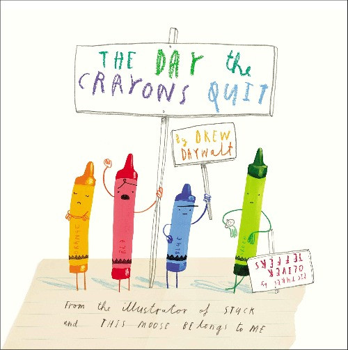 book cover of Drew Daywalt's The Day the Crayons Quit