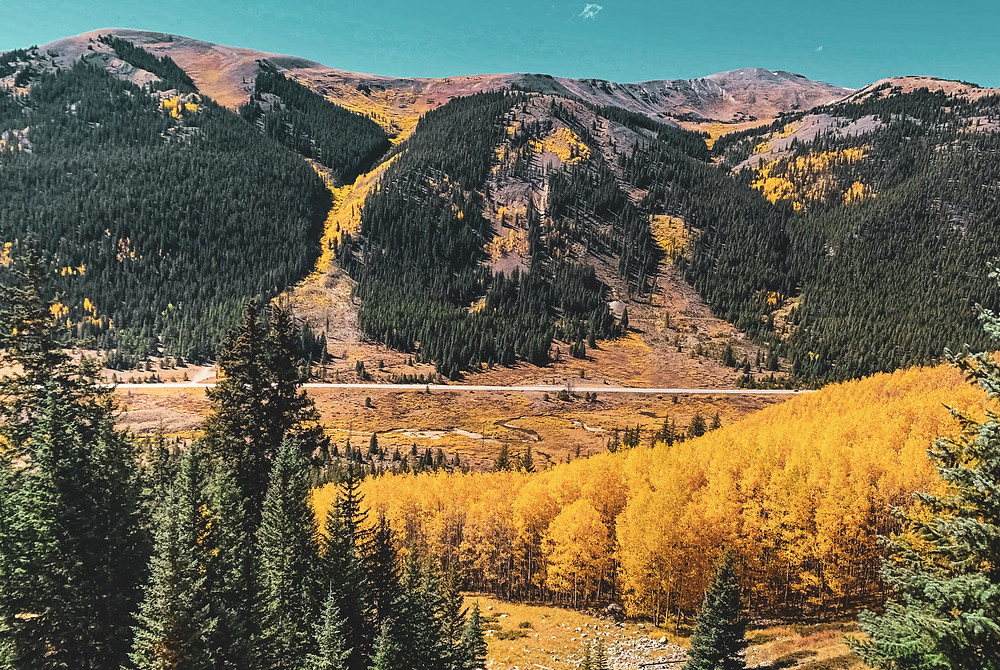 Changing colors in the Rocky Mountains.