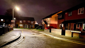 Man dies after aggravated burglary in Wigston.
