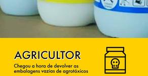 Devolução de Embalagens Vazias de Agrotóxicos.