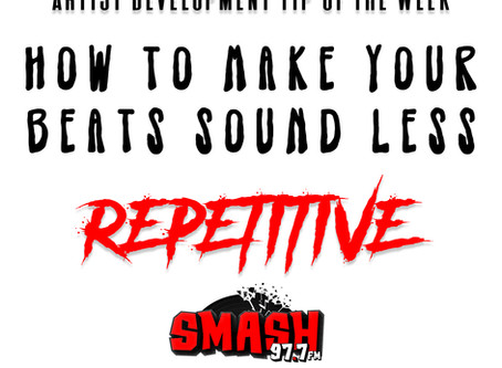 How to make your beats sound less repetitive