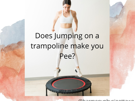 Does Jumping on a Trampoline Make You Pee?