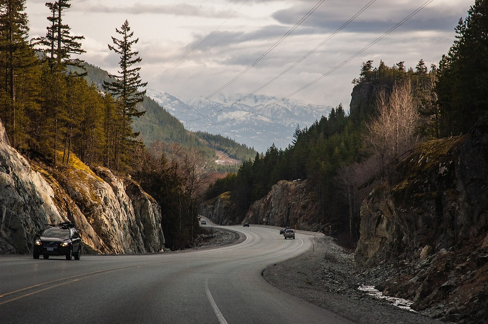 Drive Vancouver to Whistler