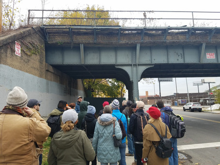 Wastewater and Nature Walk Tour on WTD Eve