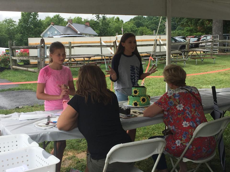 2017 Harford County 4-h Farm Farm Cake Competition champions