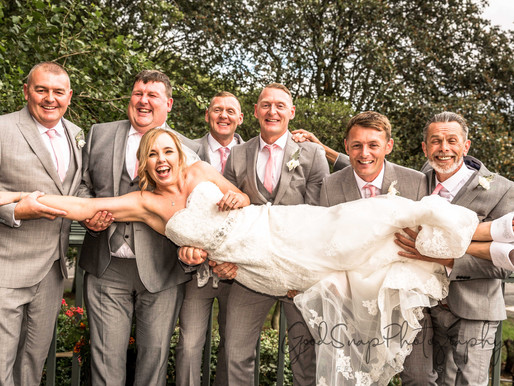 Jenni and Andrew's Wedding Day at Sefton Park Hotel