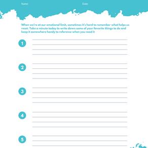 Printable Cope Note Worksheet
