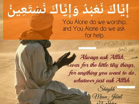 Importance of Al-Faatiha