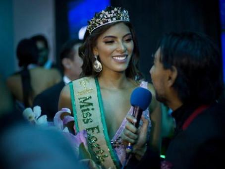 Valeria Ayos Bossa, la cartagenera que ganó Miss Earth Colombia