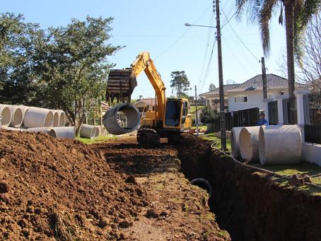 Município investe em obras de infraestrutura