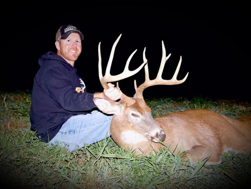 "MDL's FIRST BUCK: Robert's 155"" Iowa Buck"