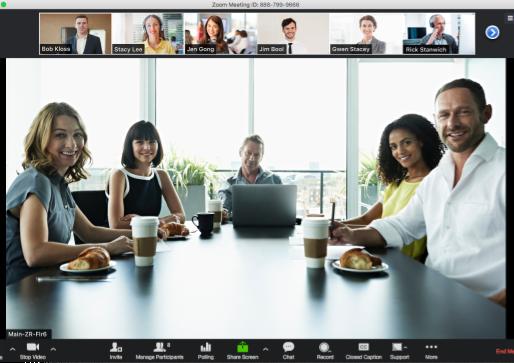 Jobb hjemmefra men ha samtidig nærheten til kunder og kollegaer med Zoom konferanseløsning!