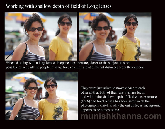 Working with shallow depth of field of Long Lenses