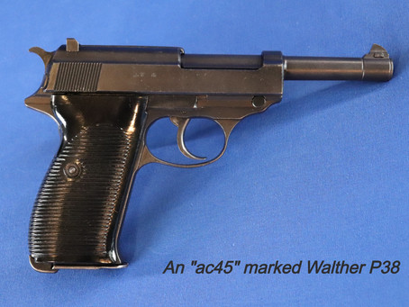 The Walther P38, and Subsequent Pistol Awesomeness - Part 1