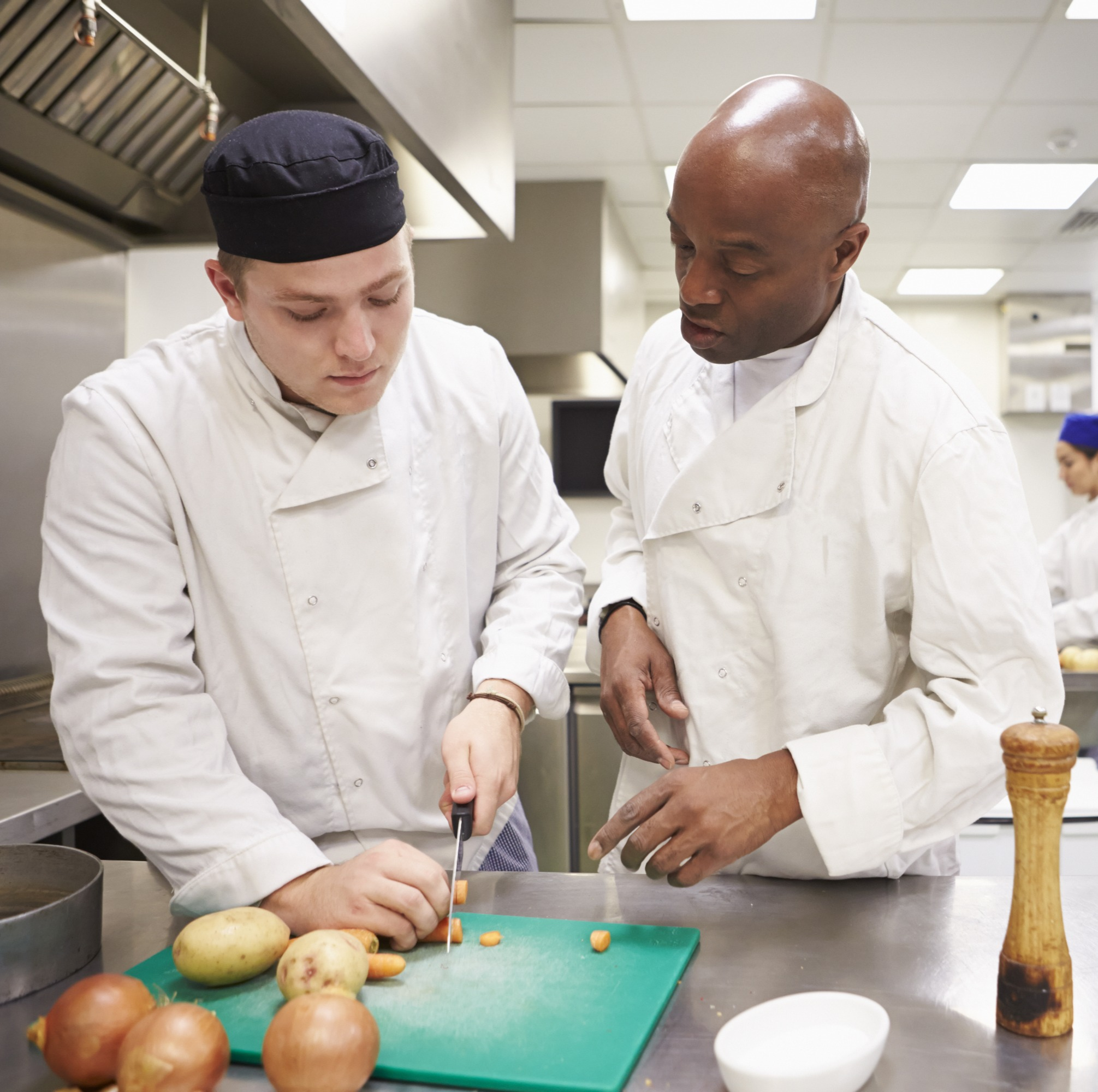 apprentice and employer level 2 apprenticeship as a chef