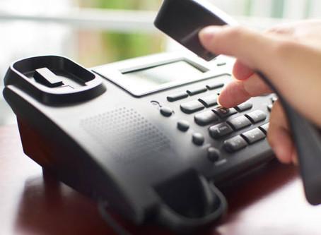 Telefonische Terminvereinbarung