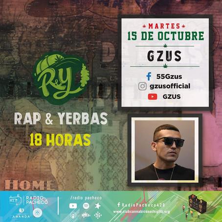 """Gzus"" Rap & Yerbas Prog 38"