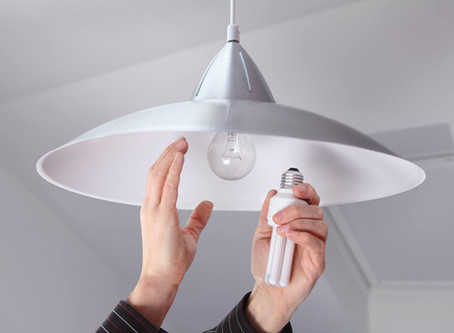 Make the switch to help save energy! Swap out your old light bulbs for LED bulbs