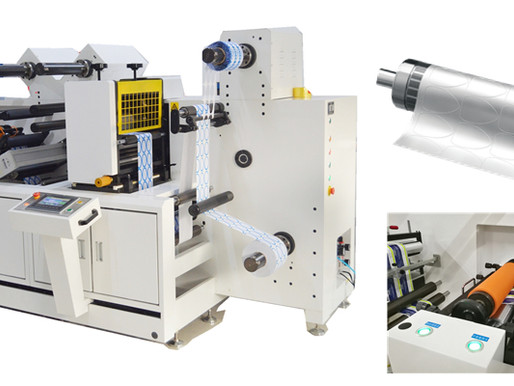 What's the advantage of label semi-rotary die cutting machine?