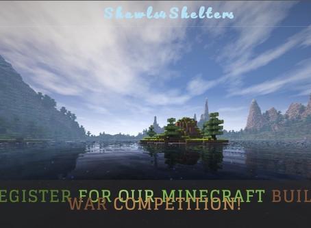 Minecraft Build War Competition