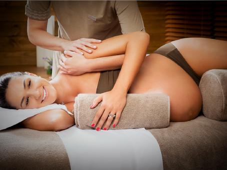 Massage spécifique pour les femmes enceintes :
