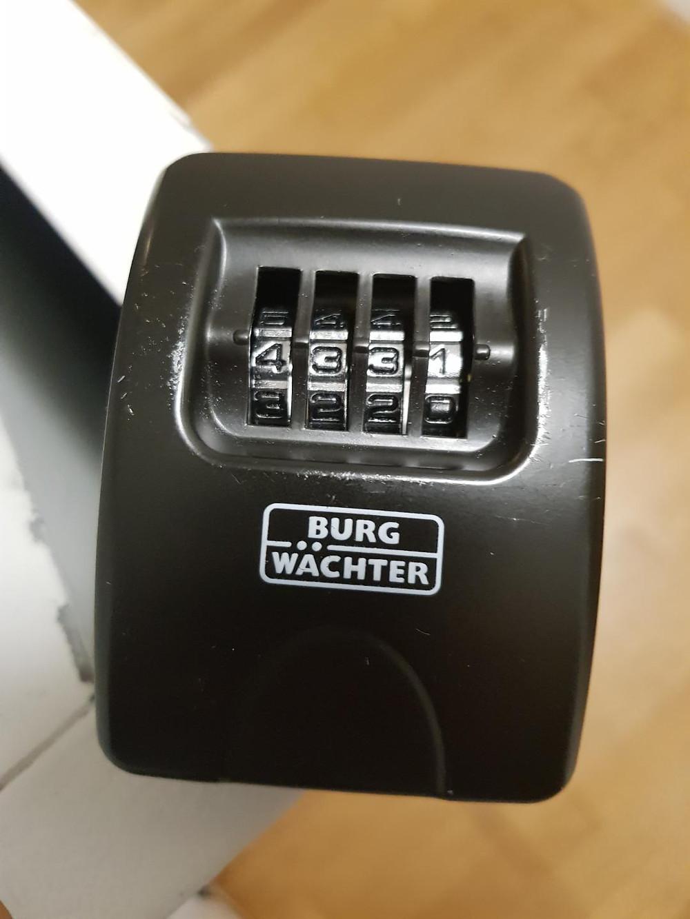 Seitensprungzimmer BErn Schlüsselsafe