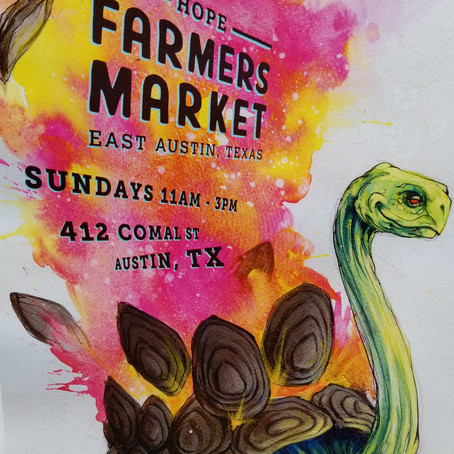 HOPE Farmers' Market, Huston-Tillotson, and Other Texas Shenanigans