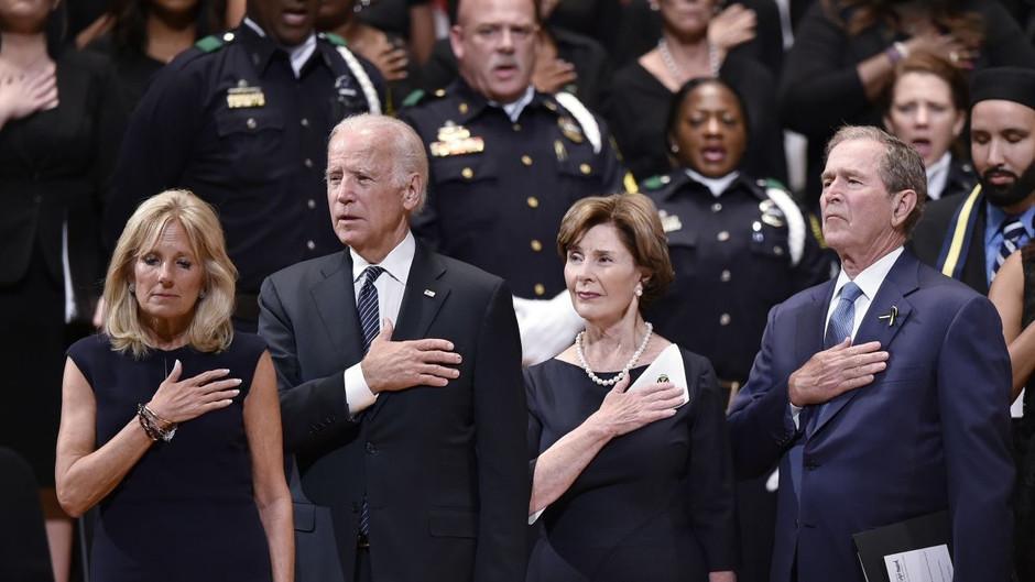 George Bush Congratulates President-Elect Joe Biden