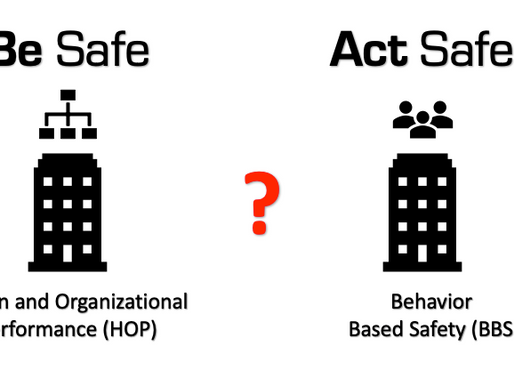 The Two Towers of Safety:  Be Safe, Act Safe