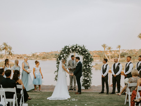Paige + John's Romantic Summer Wedding!
